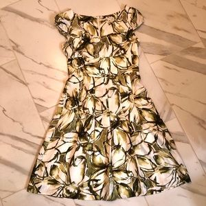 Fully Lined Silk dress with pockets!